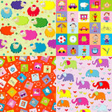 Backgrounds for kids Stock Images