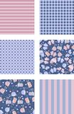 Backgrounds with knits Royalty Free Stock Image
