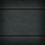 Backgrounds of leather texture Stock Photography