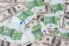 Backgrounds money. Royalty Free Stock Images