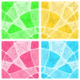 Backgrounds mosaic with butterflies Royalty Free Stock Images