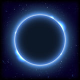 Backgrounds night sky with stars and moon. Stock Images