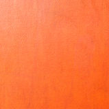 Backgrounds of orange leather texture Royalty Free Stock Images