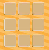 Backgrounds with a round corners Stock Image