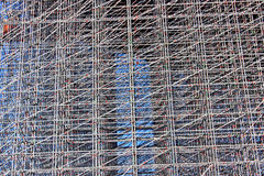 Backgrounds of scaffolding Royalty Free Stock Images