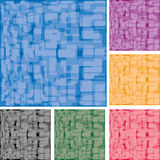 Backgrounds set 3. Set of abstract colorful spotted backgrounds, part 3,  illustration additional Stock Photo