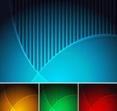 Backgrounds set - eps 10 Royalty Free Stock Image