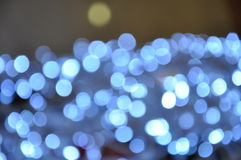 Backgrounds with Silver lights Stock Photography