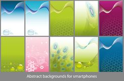 Backgrounds for smartphones Stock Images