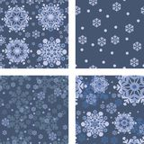 Backgrounds with snowflakes Royalty Free Stock Images