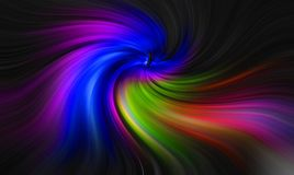 Backgrounds template colours twirls swirls vertigo vortex colors rainbow. Photo of background template with multi colours twirls twisting vortex ideal for own royalty free illustration