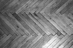 Backgrounds, texture, parquet, old floor,. Wooden wood black and white frame Royalty Free Stock Photography