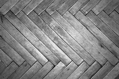 Backgrounds, texture, parquet, old floor,. Wooden wood black and white frame Royalty Free Stock Photos