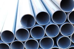 Metal tubes Stock Photography