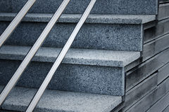 Backgrounf современных лестниц Стоковое фото RF