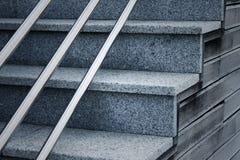 Backgrounf der modernen Treppe Lizenzfreies Stockfoto