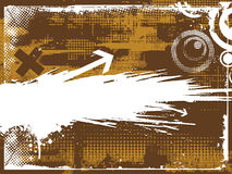 Backgroung abstrait de flèche illustration libre de droits