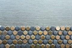 Backgroung blaues Grau des Schiefers Stockfotos