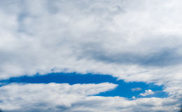 Backgroung blue sky, clouds Royalty Free Stock Image