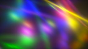 Backgroung with bright chaotic lights with blur effect, 3d render computer generated illustration stock illustration