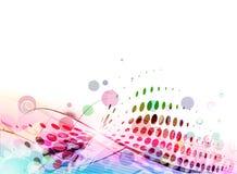 Backgroung colorido abstracto Fotografía de archivo