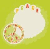 Backgroung del hippie Imagen de archivo libre de regalías
