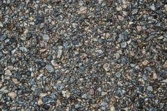 Backgroung för asfaltvägyttersida Arkivfoto