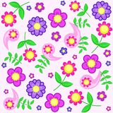 Backgroung floral Fotos de Stock Royalty Free