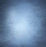 Backgroung image of a deep blue smoke and light Stock Photo