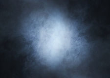 Backgroung image of a deep blue smoke and light royalty free stock images