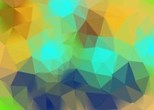 Backgroung Polygon For Backdrop. Polygon motif to create basic banner or brochure to display more interesting and simple background Royalty Free Stock Image