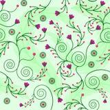 Backgroung sem emenda floral Fotografia de Stock Royalty Free