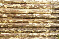 Backgroung of wooden timbers Royalty Free Stock Photography