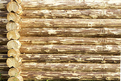 Backgroung of wooden timbers Royalty Free Stock Photos