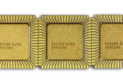 A backgrpund with Vintage ceramic CPU Stock Images