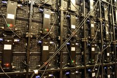 Backgrround moderno da tecnologia foto de stock