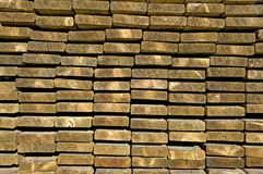 Estremità di legno Immagine Stock Libera da Diritti