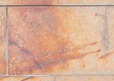 Backgrund rouillé rougeâtre de carrelage photographie stock libre de droits