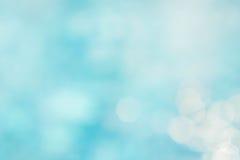 Backgruond azul verde abstrato do borrão, onda azul do papel de parede com s Foto de Stock
