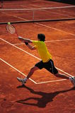 Backhand-Davis Cup: Romania-Ecuador Royalty Free Stock Photography