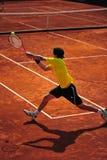 Backhand-Davis Cup: Romania-Ecuador Royalty Free Stock Photography