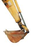 Backhoe землечерпалки Стоковое Фото