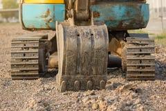 Backhoe или экскаватор стоковое фото rf