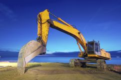 Backhoe Royalty Free Stock Photos