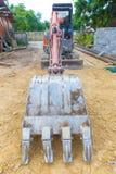 Backhoe стоковое изображение rf