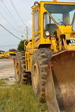 backhoe royaltyfri foto