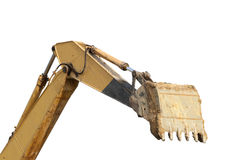 Backhoe arm Royalty Free Stock Photos