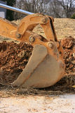 Backhoe bucket Royalty Free Stock Image