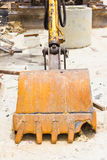 Backhoe bucket Royalty Free Stock Images