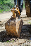 Backhoe Bucket Stock Image